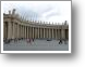 magnificent colonnades at St Peter's